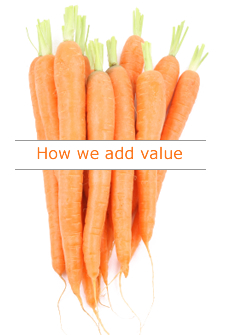 how to add value to clients
